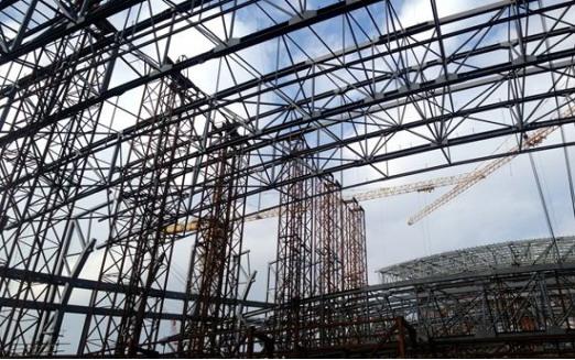 详谈大型钢结构滑移安装施工技术